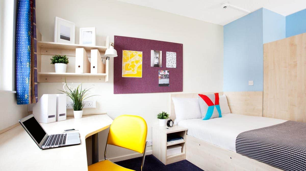 Manchester Piccadilly Point Residence Accommodation - Bedroom