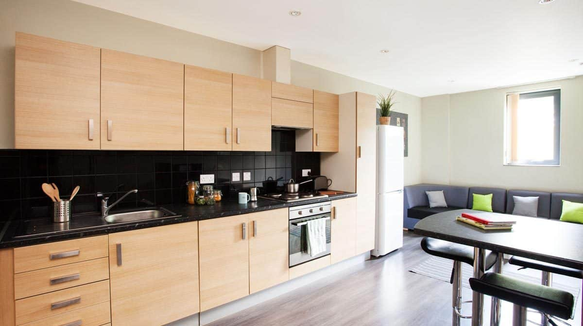 Manchester Piccadilly Point Residence Accommodation - Kitchen
