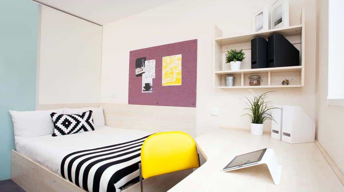 Shadwell Quantum Court residence accommodation - En-Suite Room