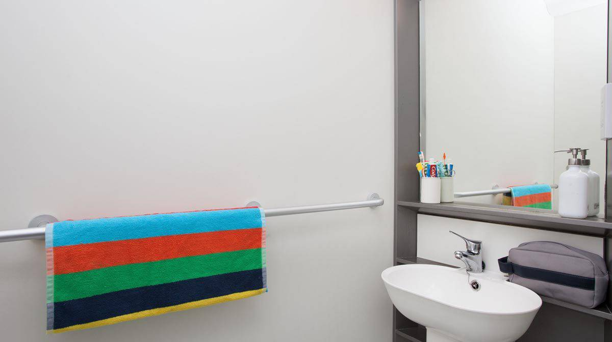 Stepney Green Pacific Court residence accommodation - En-Suite Bathroom