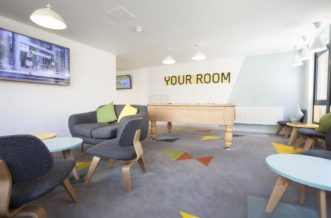 Stepney Green Pacific Court residence accommodation - Common Room