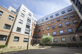 Stepney Green Pacific Court residence accommodation - External