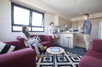 Stepney Green Pacific Court residence accommodation - Kitchen