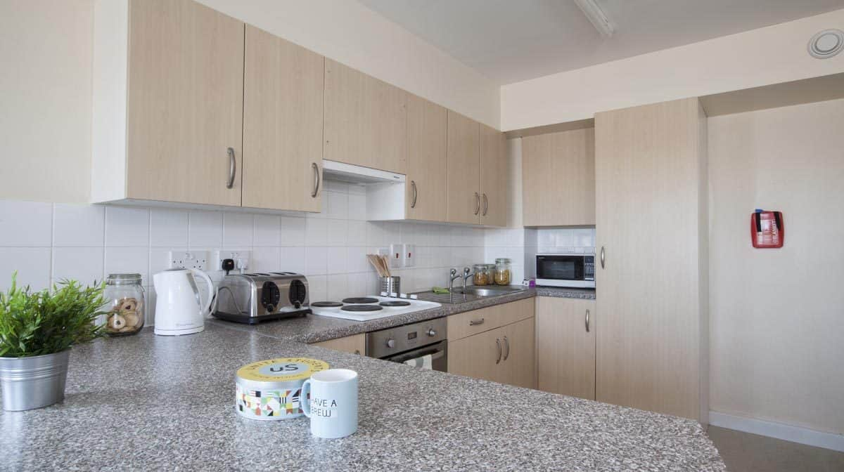 Stepney Green Pacific Court residence accommodation - Kitchen