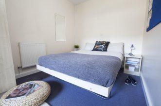 Stepney Green Pacific Court residence accommodation - Studio Bathroom
