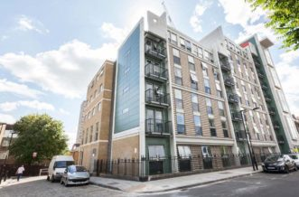 Shadwell Quantum Court residence accommodation - External