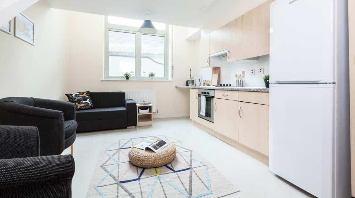 Shadwell Quantum Court residence accommodation - Studio Room