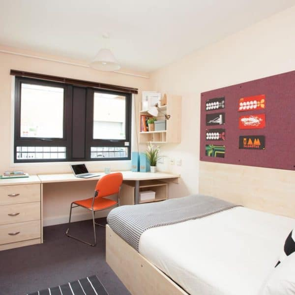 Stepney Green Rahere Court Residence Accommodation - En-Suite Bedroom