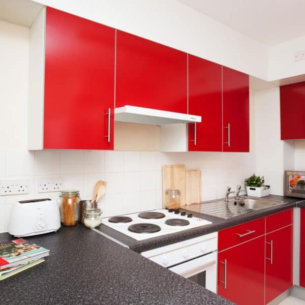Stepney Green Rahere Court Residence Accommodation - Kitchen