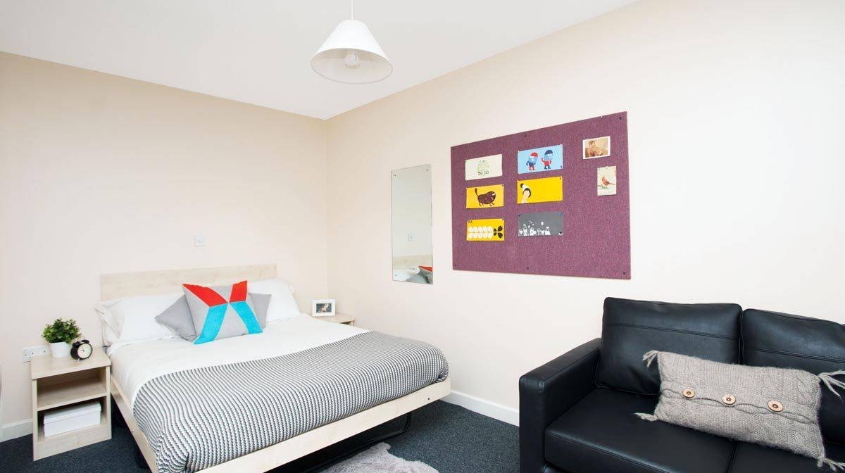 Euston Somerset Court Residence Accommodation - Bedroom