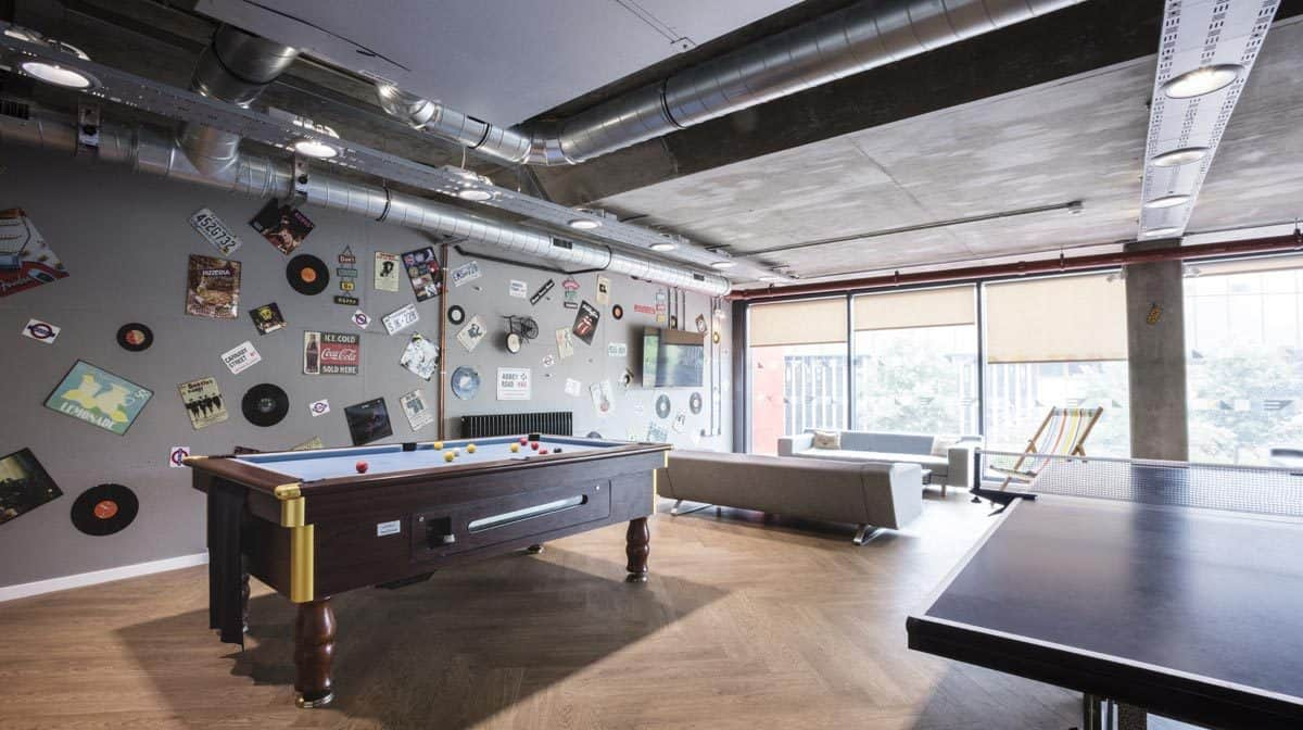 St Pancras Way residence accommodation - Common Room
