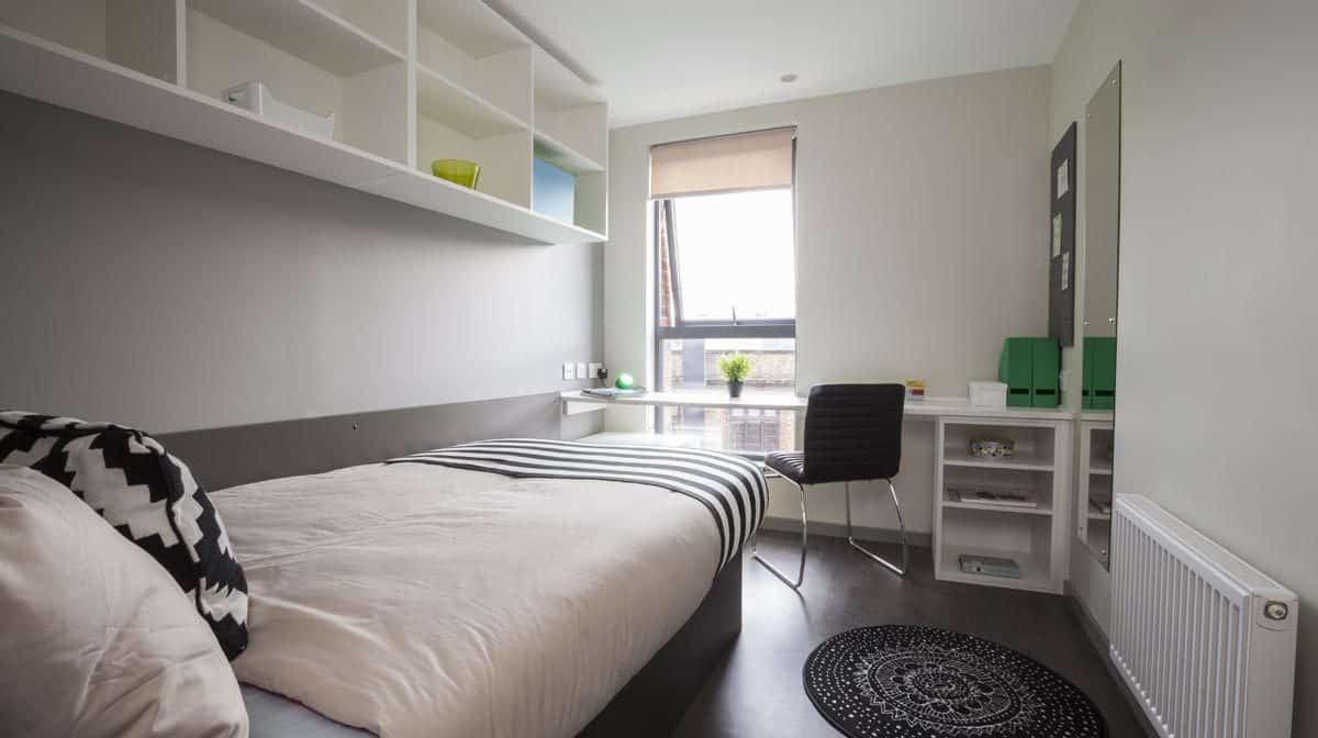 St Pancras residence accommodation - En-Suite Room