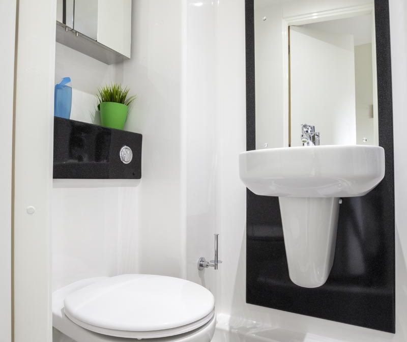 St Pancras Way residence accommodation - En-Suite Room