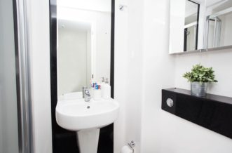 King's Cross residence accommodation - En-Suite Room