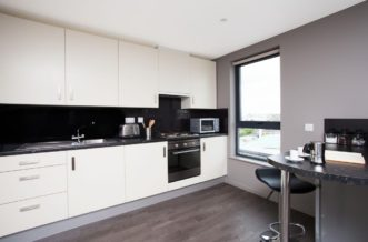 St Pancras residence accommodation - Studio