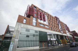 St Pancras Way residence accommodation - External
