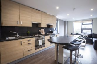 St Pancras residence accommodation - Kitchen