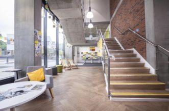 St Pancras Way residence accommodation - Reception