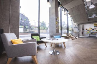 King's Cross residence accommodation - Reception
