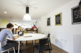 King's Cross residence accommodation - Study Room