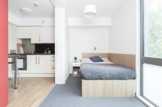 Waterloo Lambeth North Wellington Lodge Residence Accommodation - Studio