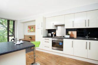 Waterloo Lambeth North Wellington Lodge Residence Accommodation - Kitchen