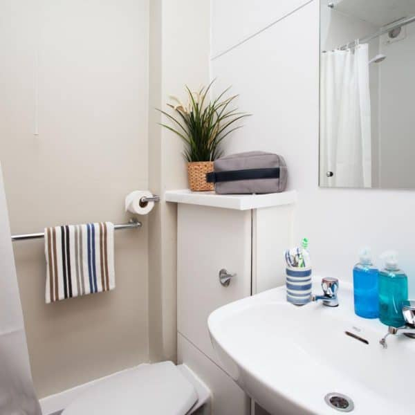 Liverpool Cambridge Court Residence Accommodation - Private Bathroom