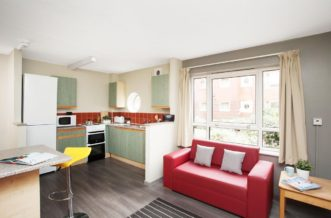 Liverpool Cambridge Court Residence Accommodation - Shared Kitchen