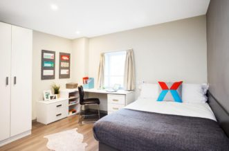Liverpool Grand Central Residence Accommodation - Accessible Bedroom