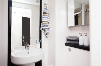 Liverpool Grand Central Residence Accommodation - Bathroom