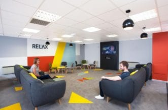 Liverpool Grand Central Residence Accommodation - Social Area