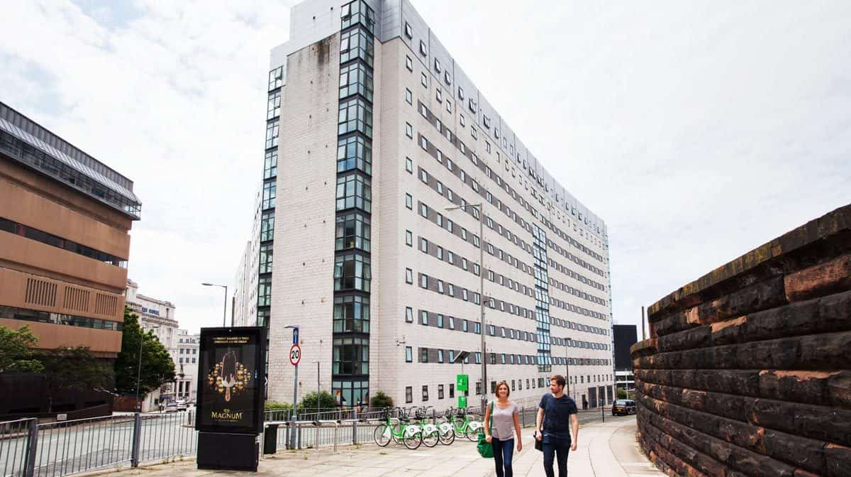 Liverpool Grand Central Residence Accommodation - External