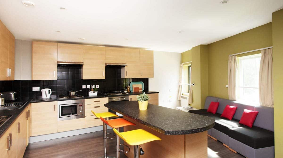 Liverpool Grand Central Residence Accommodation - Common Kitchen