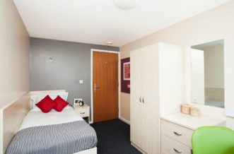 Liverpool Grand Central Residence Accommodation - Single Non Ensuite