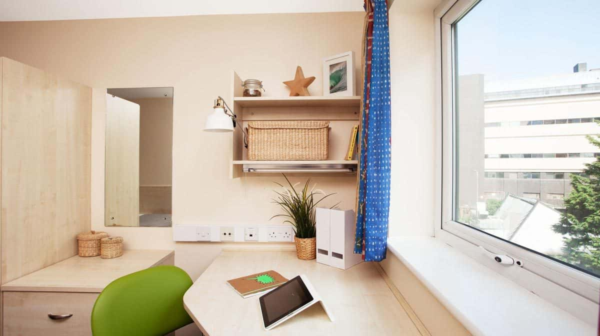 Liverpool Grand Central Residence Accommodation - Study Area
