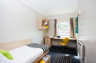 Manchester New Medlock House Residence Accommodation - En-Suite Bedroom