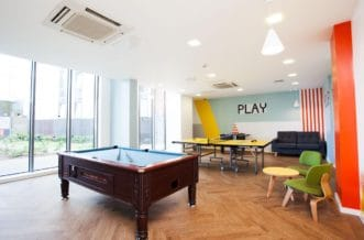 Manchester Parkway Gate Residence Accommodation -Social Area