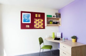 Manchester Parkway Gate Residence Accommodation - Study Area