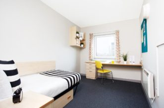 Manchester New Medlock House Residence Accommodation - Non En-Suite Bedroom
