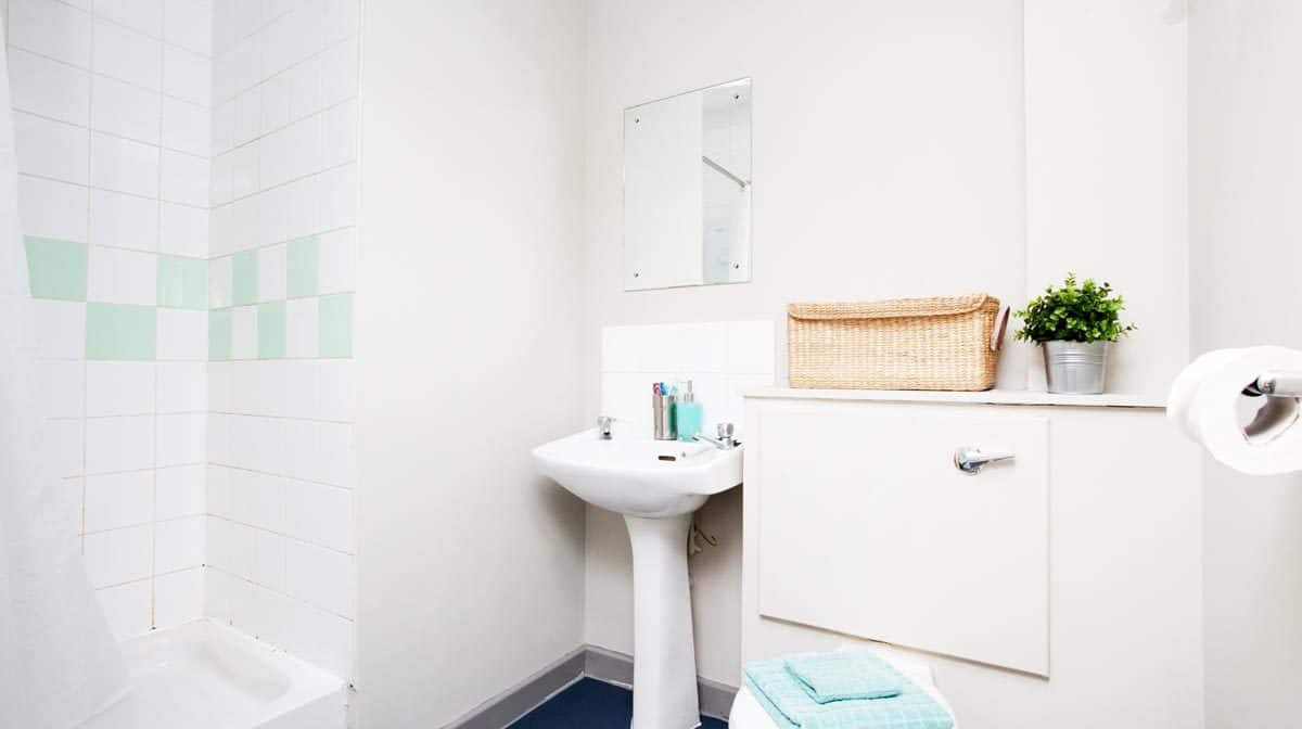 Manchester New Medlock House Residence Accommodation - Bathroom