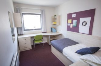 Plymouth Residence Accommodation - Bedroom
