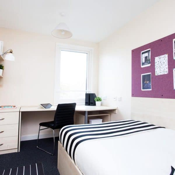 Sheffield Central Quay Residence Accommodation - Bedroom