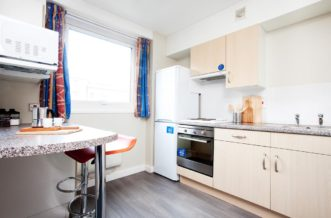 Sheffield Central Quay Residence Accommodation - Kitchen