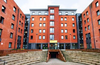Sheffield Central Quay Residence Accommodation - External