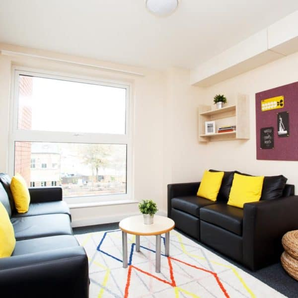 Sheffield Central Quay Residence Accommodation - Common Room