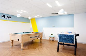 Sheffield Leadmill Point Residence Accommodation - Social Area