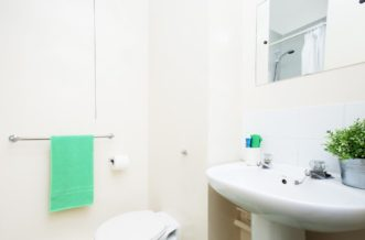 Sheffield Leadmill Point Residence Accommodation - Bathroom
