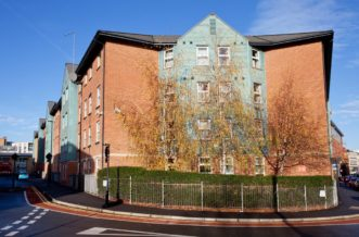Sheffield Leadmill Point Residence Accommodation - External
