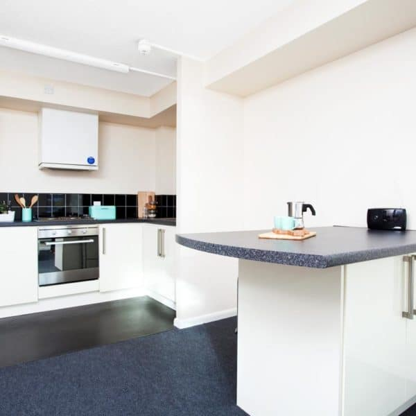Sheffield Leadmill Point Residence Accommodation - Common Kitchen