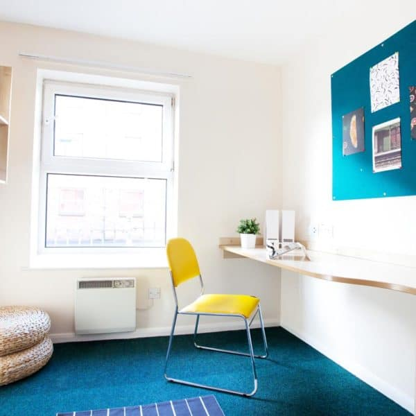 Sheffield Leadmill Point Residence Accommodation - Study Area